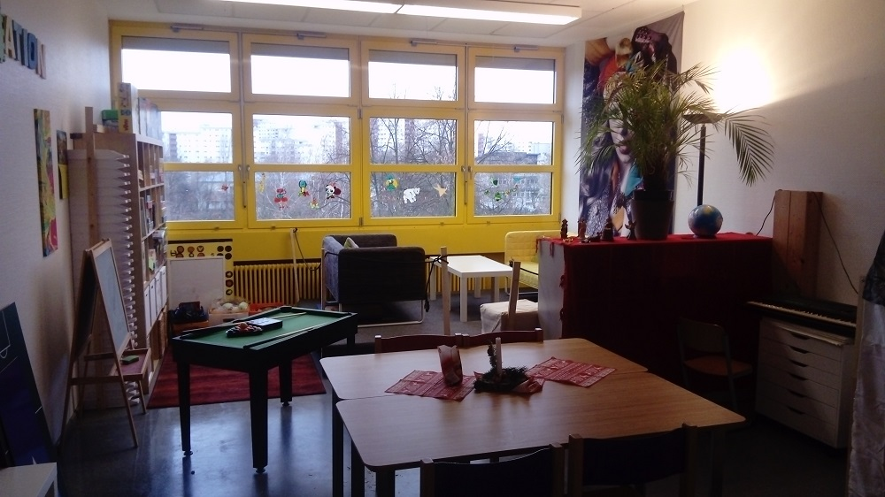 Schulstation Spieleraum